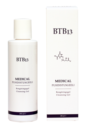 BTB13 Medical Puhdistusgeeli 250ml