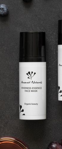 Anumati Naturals Vividness Essence Face Mask - kiinteyttävä yönaamio 50ml