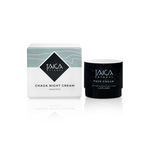 Taiga - Chaga Night Cream Sensitive - Pakuri-Yövoide 50ml